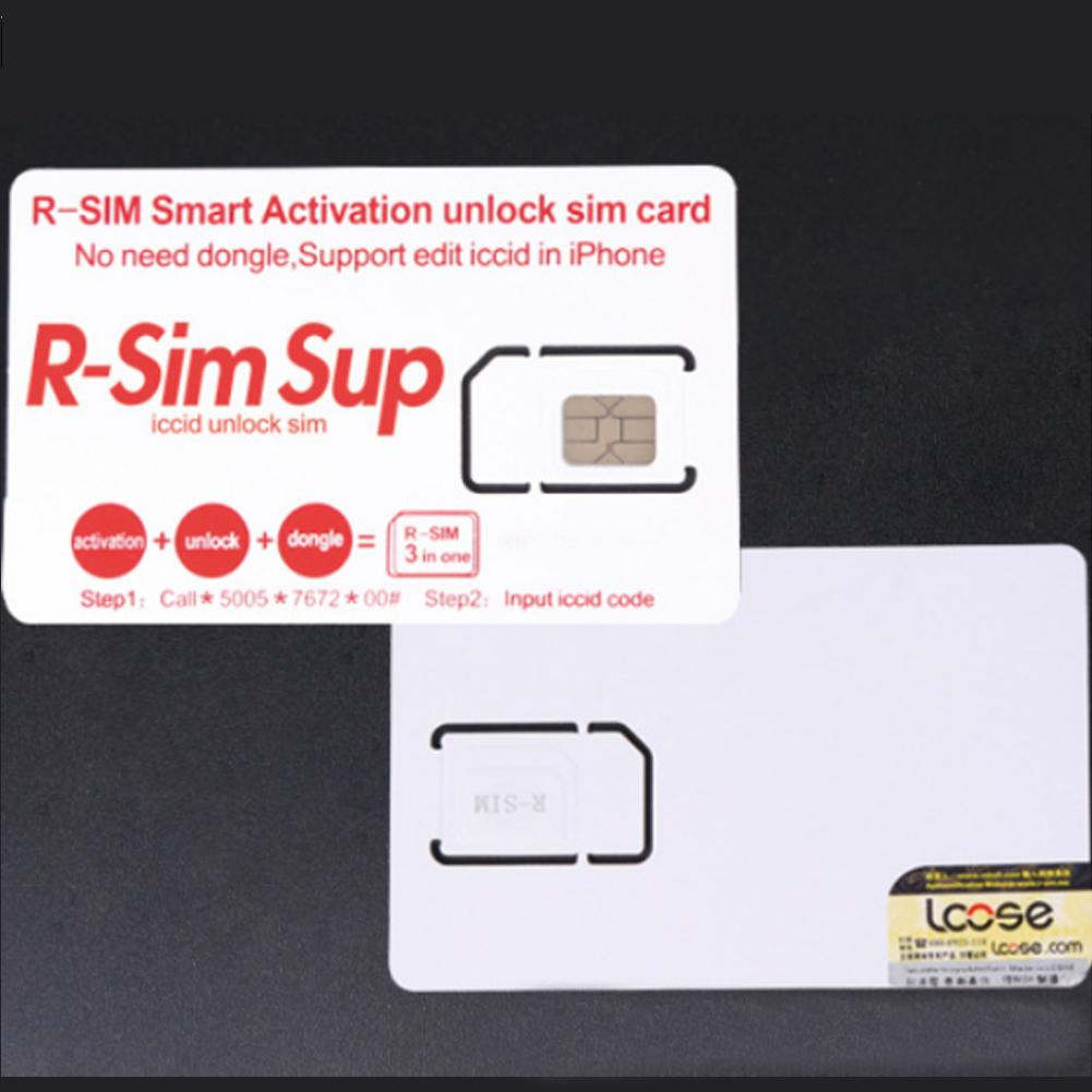 Lot 4G R-SIM 3 In 1 Nano Unlock Cards Fits For iPhone XS Max  X/8/7/6/6s/5S/5 4G