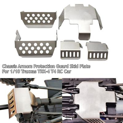 1PC Metal Chassis Protection Skid Plate Armor For 1//10 TRAXXAS TRX4 Ford Bronco