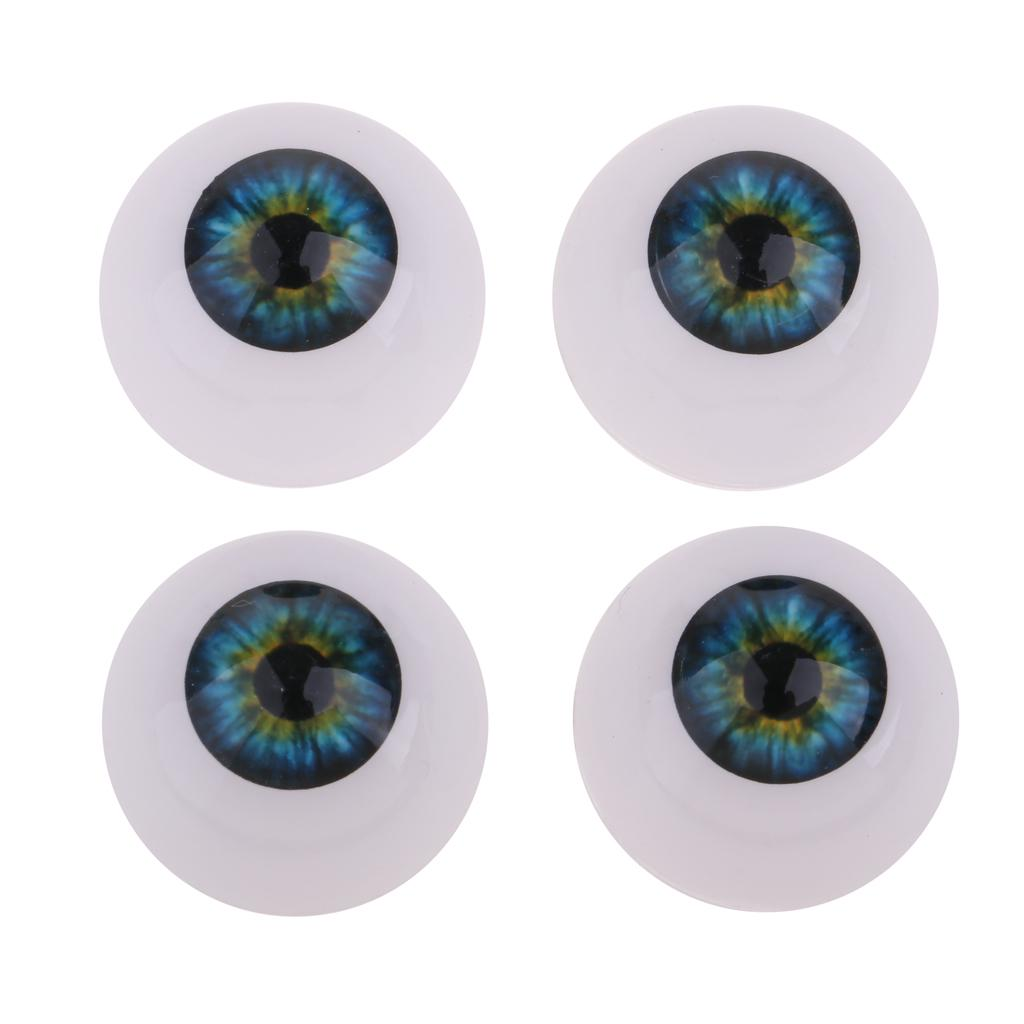 10 Pairs Eyeballs Eyes For Baby Doll BJD Doll Accessory DIY Making 22//24mm