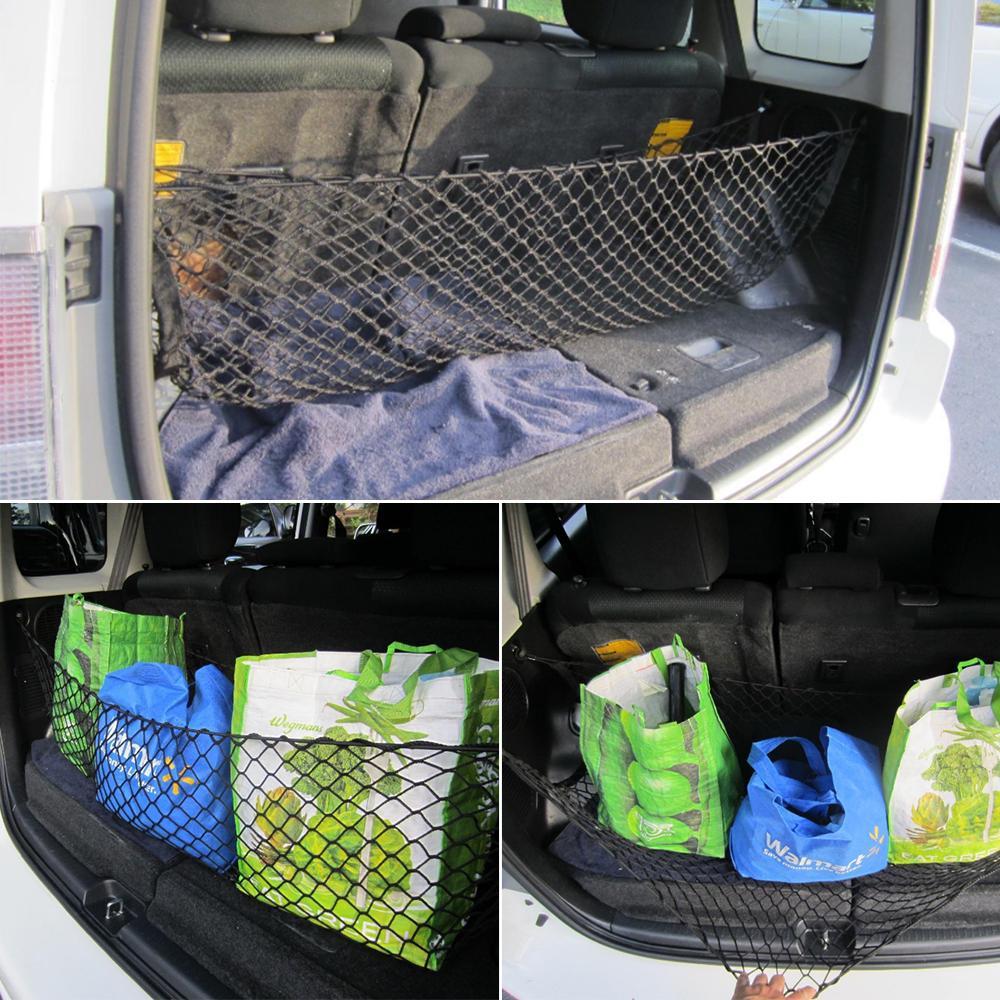Sell Nylon Car Truck Storage Luggage Hooks Hanging Holder Seat Bag Net Mesh FAS
