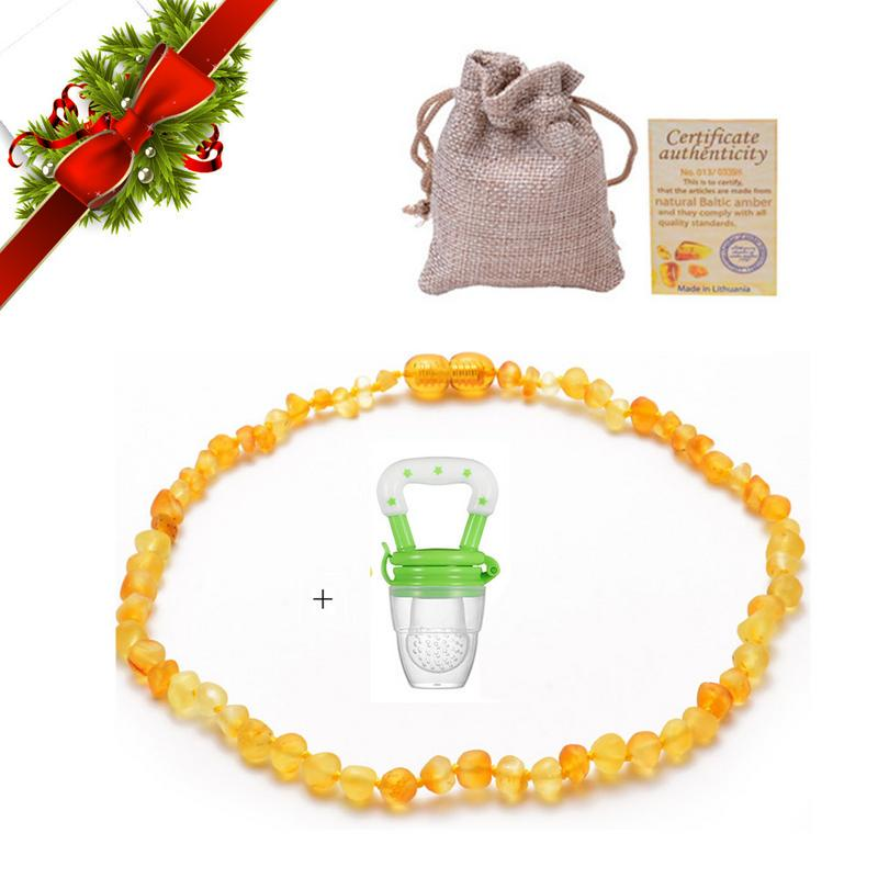 Genuine 100/%  Baltic Amber Baby//Kids Necklaces 33cm 13inch!