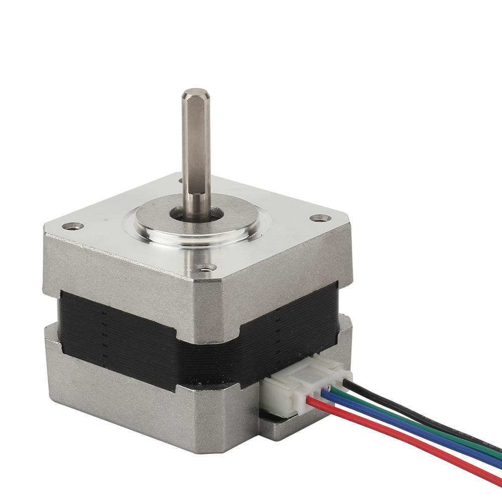 Stepper Motor 5mm Shaft 2-Phase 4-Wire For Nema CNC RepRap Prusa 3D Printer DIY
