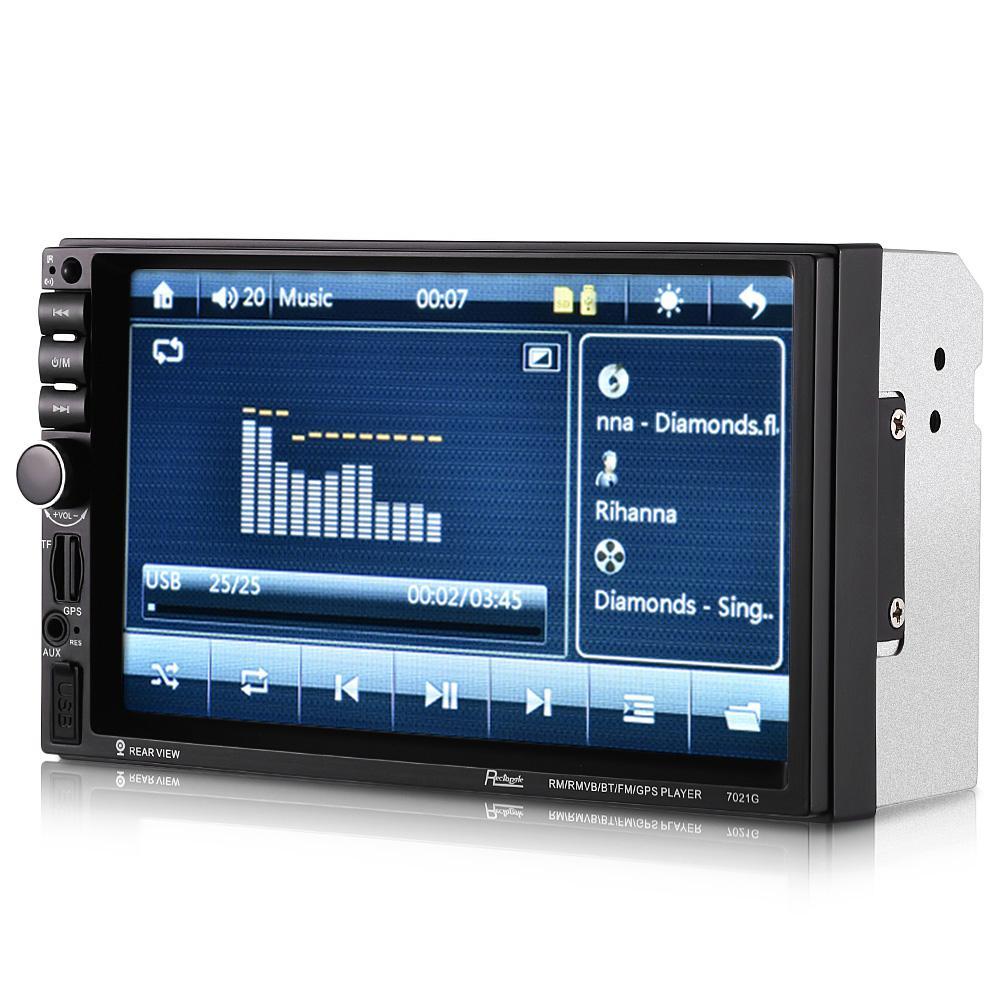 Rectangle 7021G Bluetooth European Map GPS Car MP5 Player