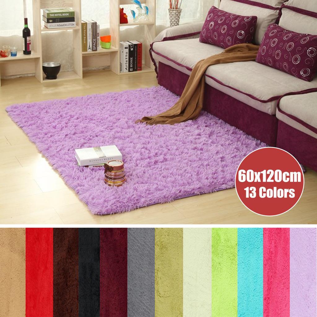 Gy Rug Antiskid Soft Carpet Fluffy, What Color Rug For Living Room