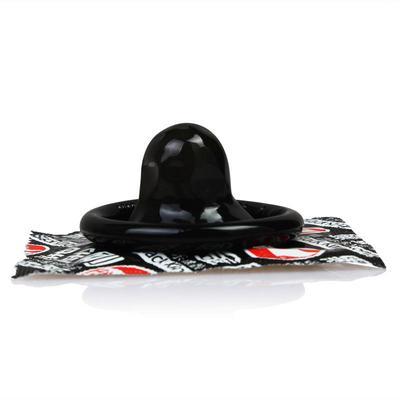 Condoms Sex Toys For Adults Natural Latex Black Condoms For Men Delay Ejaculation,10pcs/lot=1box