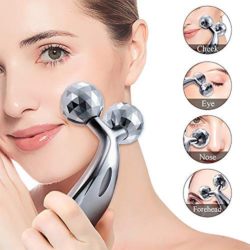 3D Micro Current Massager Roller Face Lifting And Tighening Tool V-face  Shaping Eyes Caring Body Slimming & Shaping - buy from 5$ on Joom  e-commerce platform