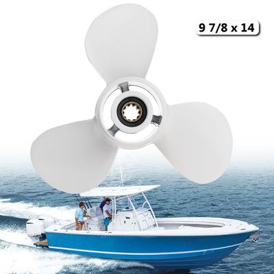9 7/8 x 14 Aluminum Boat Outboard Propeller For Yamaha 20-30HP  664-45952-00-EL