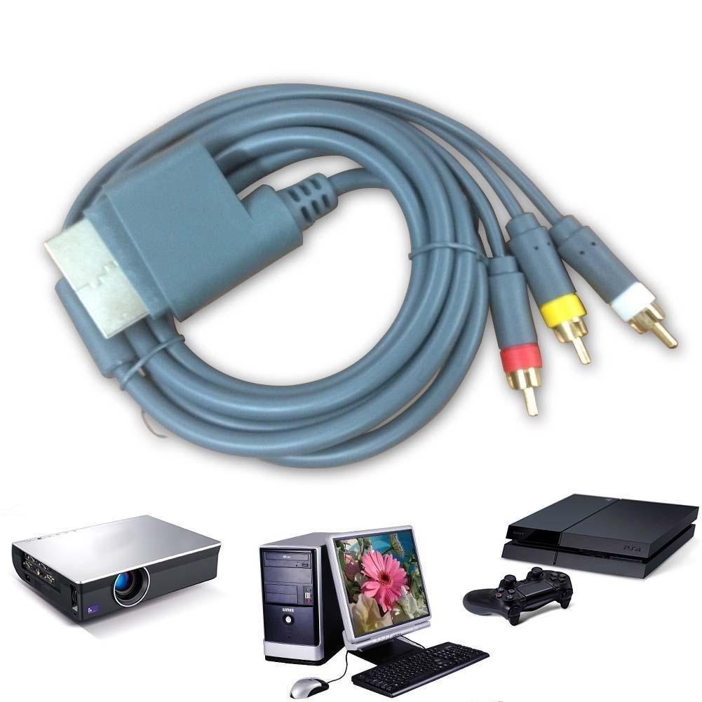 1szt HD TV składnika wideo kompozytowe AV w formacie Audio kabel ...