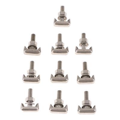 MagiDeal 60 Pieces Protective Pan Hardware Kit Pin Clip Nut For Audi A4 S4 VW Passat