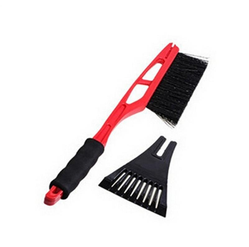 Car Winter Snow Brush Scraper Ice Removal Shovel Window Cleaning Tool Outdoor
