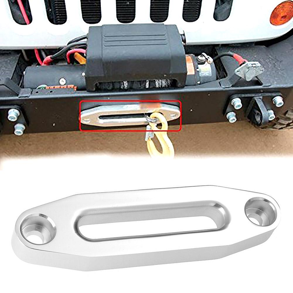 3000lbs 4000lb Universal Aluminum Hawse Fairlead for Synthetic Winch Rope
