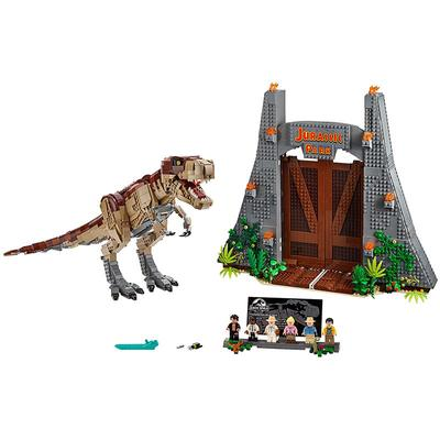 rex vs Dino-Mech Battle Lighting bricks Set SY1410 LED Light Up Kit For 75938 T