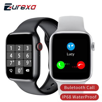 The Zurexa smartwatch with a 1.54 inch screen, IP68 water protection and a pulsometer