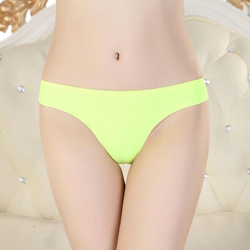 Briefs Soft Cotton Lycra Underwear Panties Women Seamless Invisible Lingerie