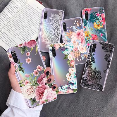 Luxury Floral Lace Flowers TPU Phone Case Cover For iPhone 6 7 8 Plus 11 Pro Max Samsung A11 A21 A31 A41 A51 A71 Huawei Xiaomi Redmi Note 9 Pro