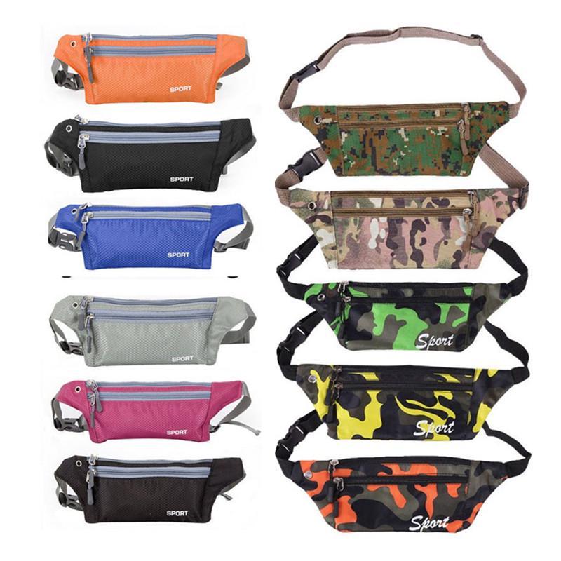 Waist Purse Dog Lovers Unisex Outdoor Sports Pouch Fitness Runners Waist Bags