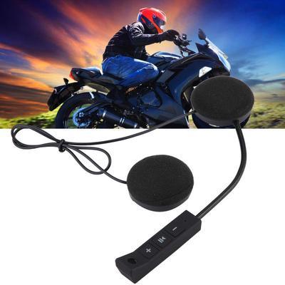 3c74f35e5a9 1 Pair Motorcycle Helmet BT Headset Headphone Speakers Support Hands-free  Calling