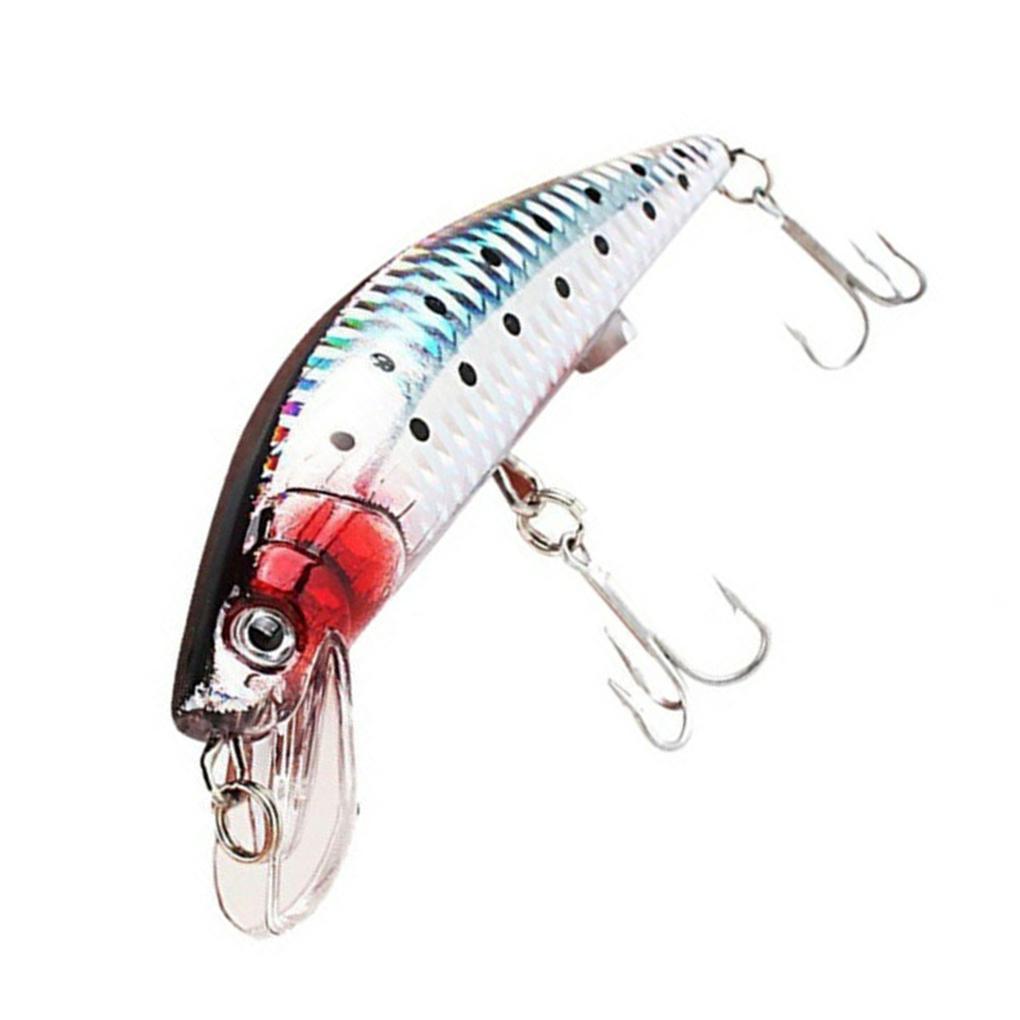 BianchiPatricia Mini USB Rechargeable Flashing Led Light Twitching Fishing Lures Bait