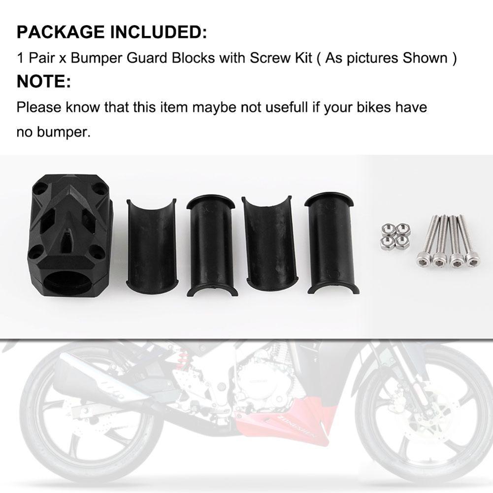 22 25 28mm Moteur de Moto Garde de Protection Bloc D/écoratif Pour Pare-Chocs Pour B M W R1250GS 2019