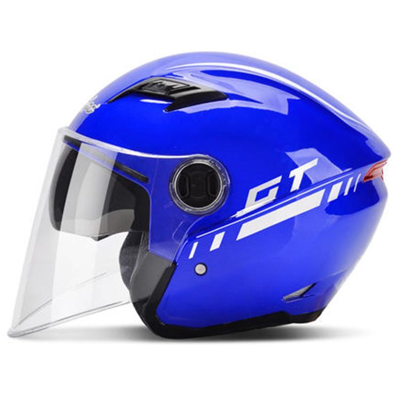 Casque de Moto pour Hommes Coupe-Vent /à Double Face /à Double lentille Flip Up Casques de Moto Anti-bu/ée de Montagne Route de Motocross