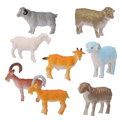 12PC Educational Simulated Animal World Model Kids Christmas Zodiac Toy Gift Set