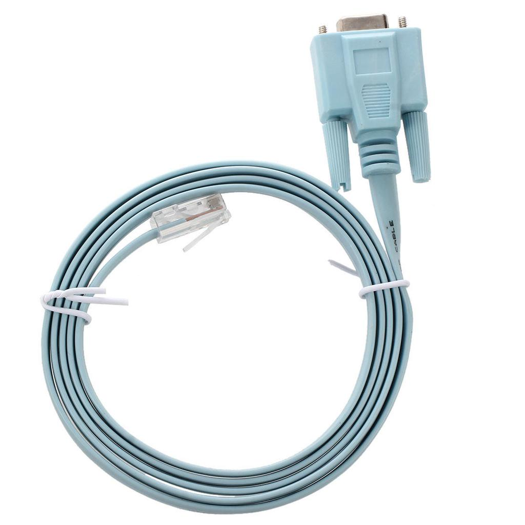 72-3383-01 Console Cable DB9 to RJ45 Line Card for Cisco Router 6ft Switch
