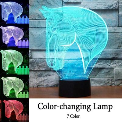LE3D 3D Optical Illusion Desk Lamp3D Optical Illusion Ni