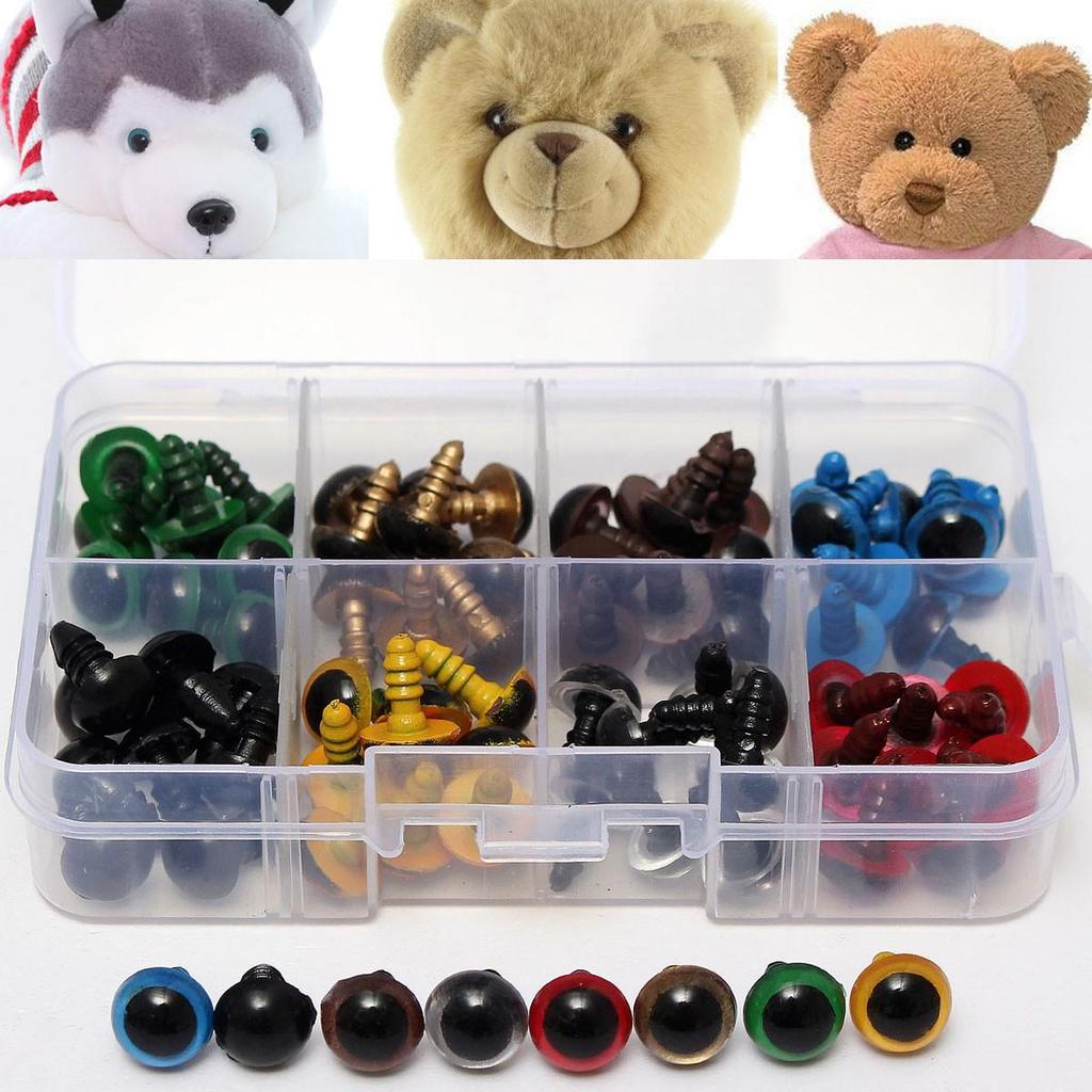 10PCS LOT Plastic Teddy Toy Doll Safety Eyes Round For Animals Toy DIY Sale.
