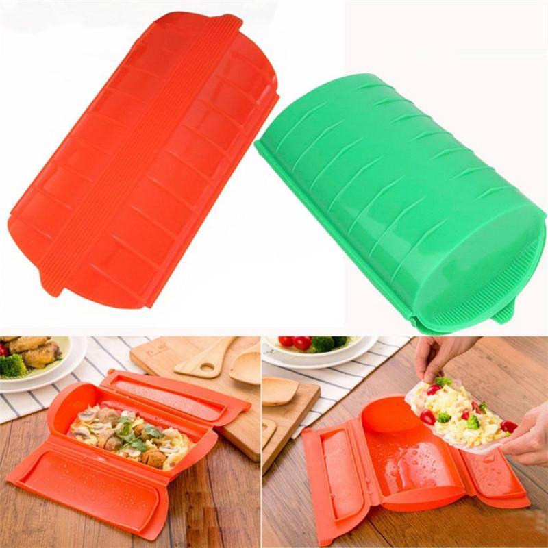 Lot de 2 Ventilé Micro-ondes Food plate dish couvercle cuisine cuisson