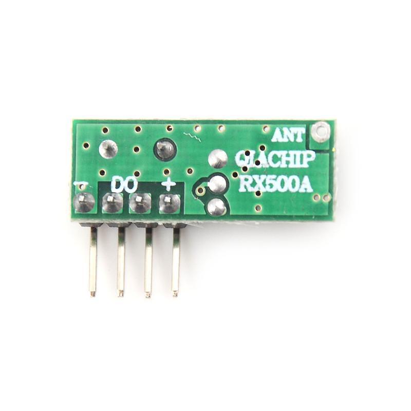 1PC RX500A 433mhz Superheterodyne RF Relay Wireless Receiver Module BBJB