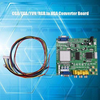 Integrated Circuits & Industrial Electronics: Cga/ega/yuv