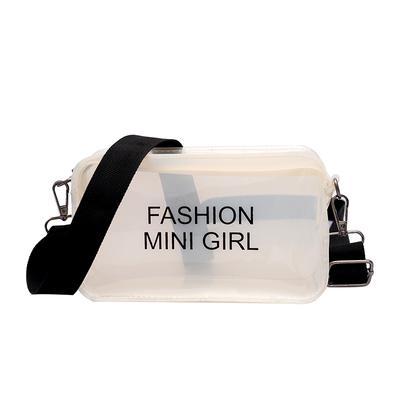 54b25b9552c5 Женщин небольшой мешок желе прозрачный квадратных сумка женская мини  Crossbody мешок