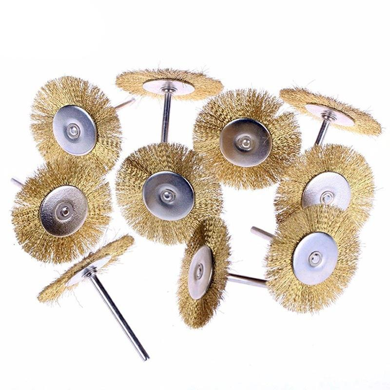 Metalworking Supplies Mini Stainless Steel Wire Brushes Brass ...
