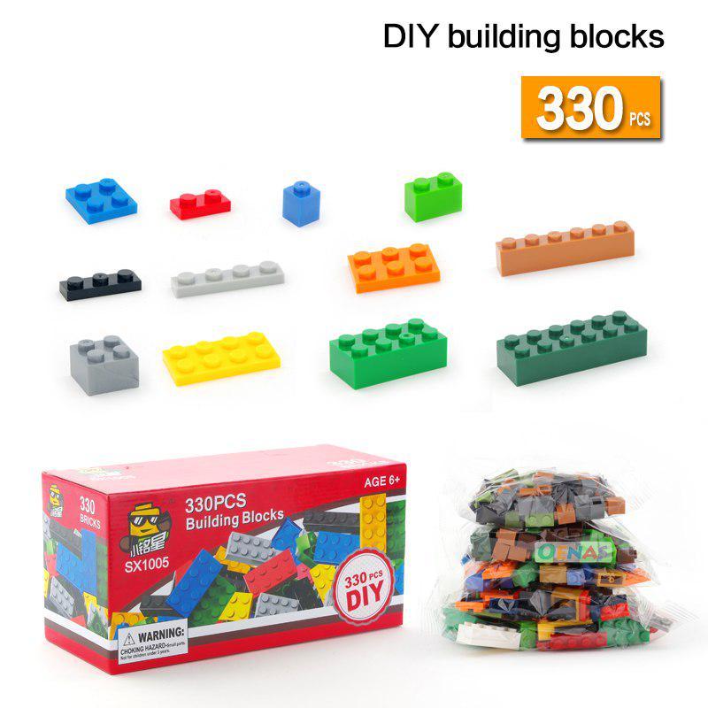 330pcs 660pcs Building Blocks Educational Creative Toys for Children