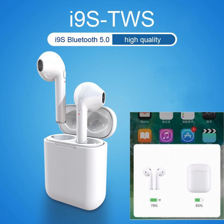 I9s TWS всплывающие окна Bluetooth гарнитура стерео беспроводная мини гарнитура с микрофоном для iphone – купить по низким ценам в интернет-магазине Joom