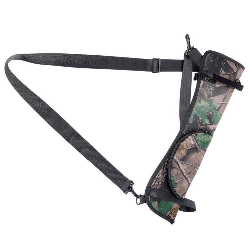 Details about  /Shooting Hunting Archery Quiver Back Hip Waist Bag Arrow Bow Holder Pouch