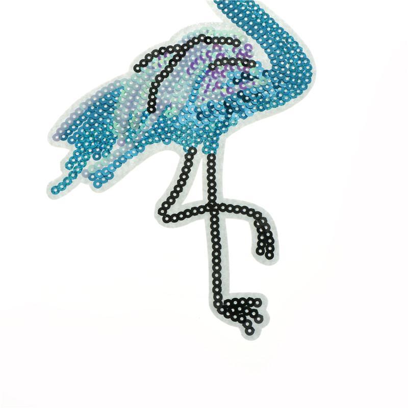Chat réversible Changement Couleur Paillettes sew on patches bricolage Patch Appliqué à chaud