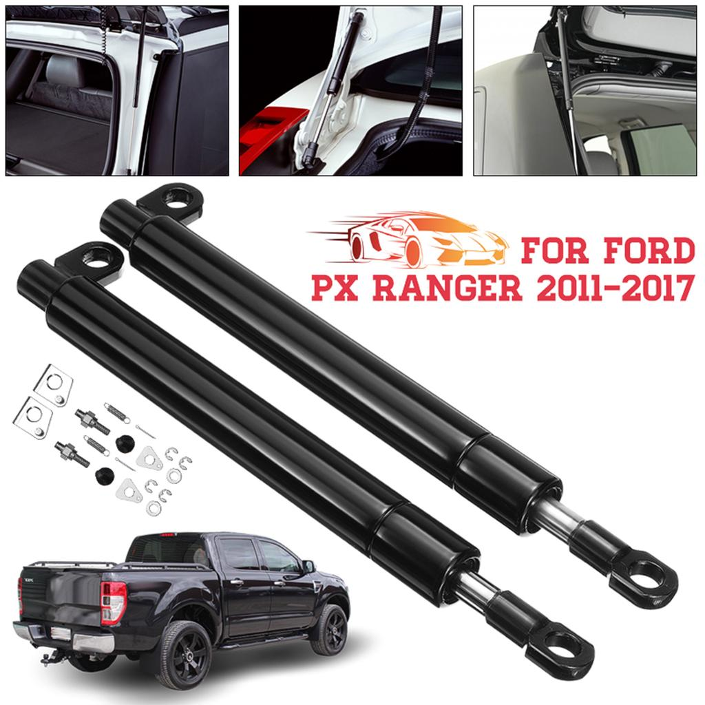 2X Rear Tailgate Hood Gas Struts Lift Spring Support For Mazda BT-50 Ford Ranger