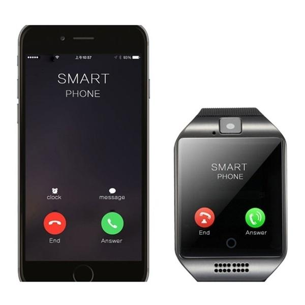 Fashion Watch Watch Q18 plus smartwatch sync phonebook Watchs for samsung