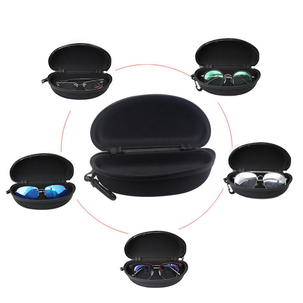 6c1ec299d3 Caja cremallera gafas de sol gafas duro caso lente protectora con ...
