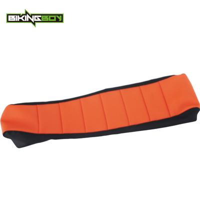 Pleasant Orange Black Motocross Mx Motorcycle Offroad Ribbed Gripper Caraccident5 Cool Chair Designs And Ideas Caraccident5Info