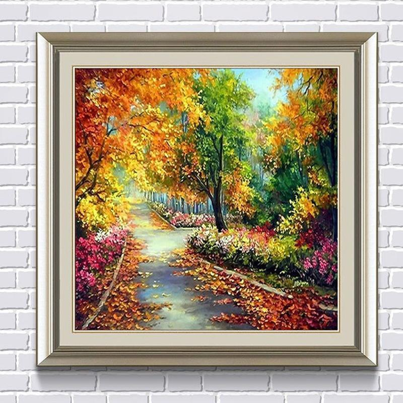 DIY 5D Diamond Painting Embroidery Round Swan Cross Stitch Room Home Decor DT