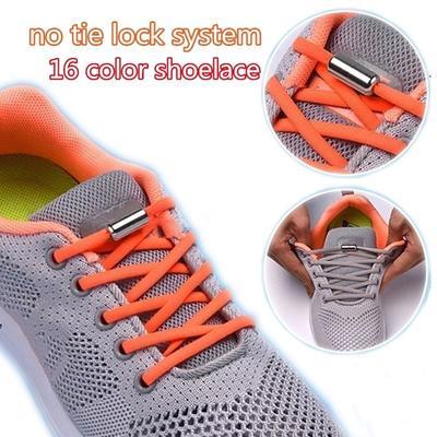 1Pair Elastic Locking Shoelaces Kids
