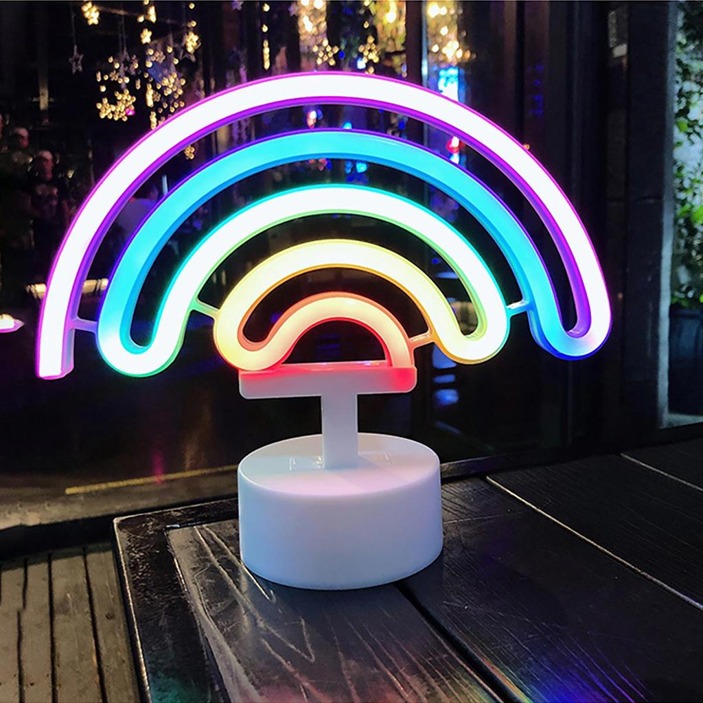 LED Neon Sign Lamp Wedding Party Night Lights Home Decor USB//Battery Power Light