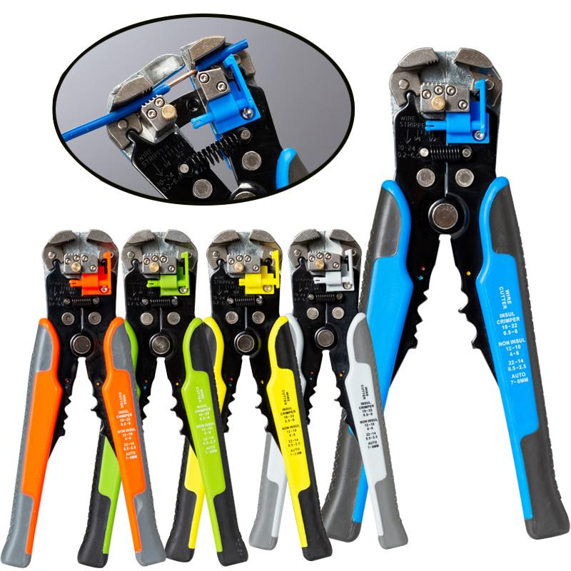 1PC Crimp Tool Wiring Crimping Crimper Open Barrel Kit 10-22AWG Plier for Cable