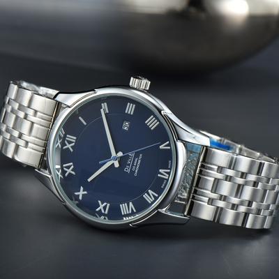Men's Sapphire Mirror Waterproof Chronograph Running Seconds Quartz Casual Dating Business Watch