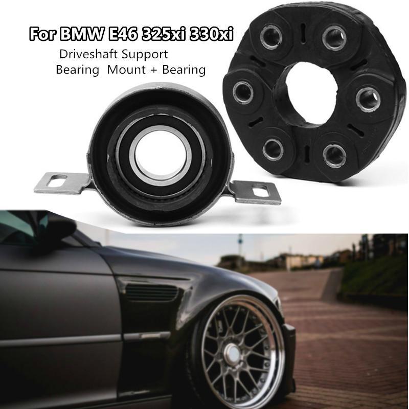 Driveshaft sup bearing center support bearing mount for BMW E46 325xi 330xi  26121229317
