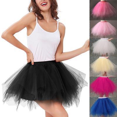 7ca1545fb Mujeres alta calidad elástico tul elástico capas adolescente adulto ...