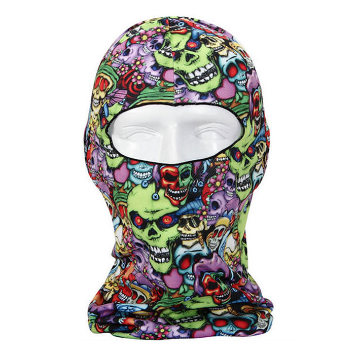 Thin 3D Outdoor Cycling Ski Balaclava Neck Hood Full Face Mask Hat Beanie Animal