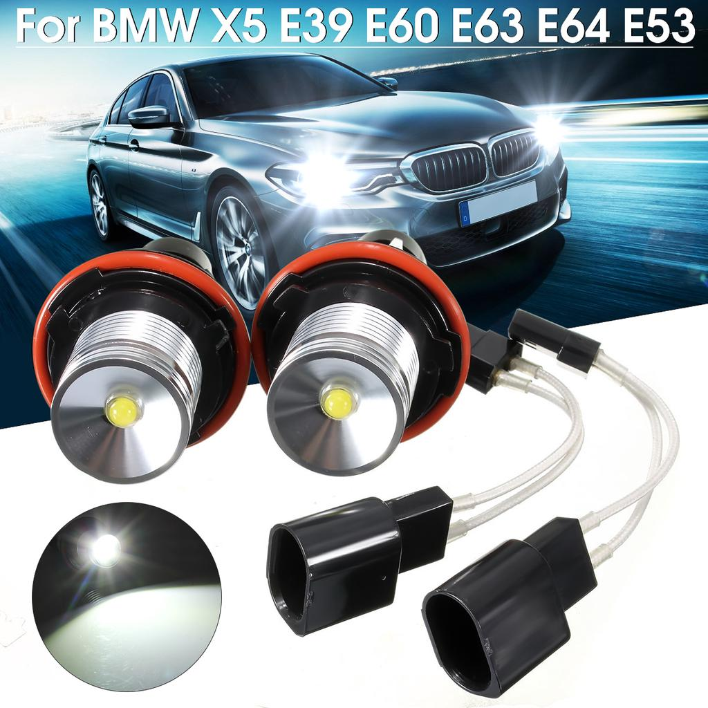 2Pcs For BMW E53 X5 2000 2001 2002 2003 2004 2005 2006 2007 Fog Lamp LED Bulbs